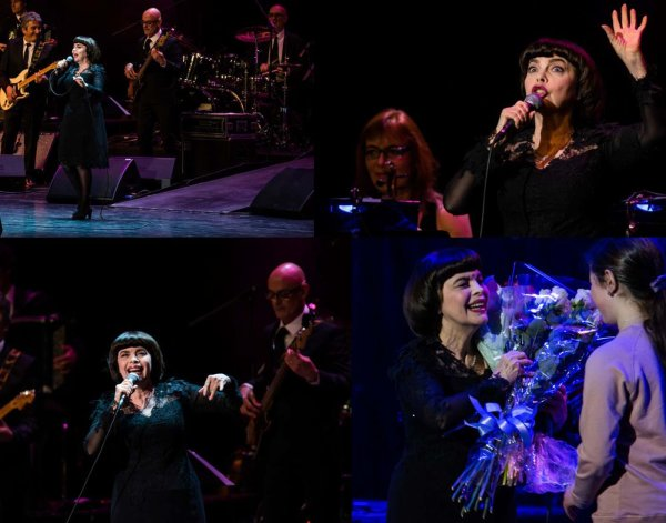 Mireille Mathieu - Photos Moscou Concert 14/03/2017