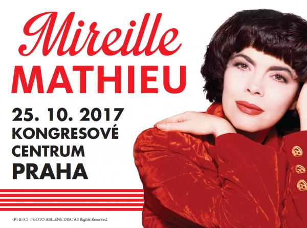 Mireille concerts à Prague 2017