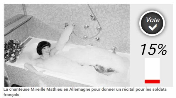 PARIS MATCH - Votez pour la photo de Mireille.