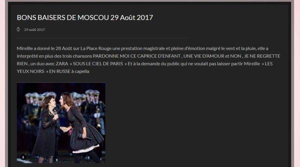 Mireille et Zara - Août 2017 Moscou