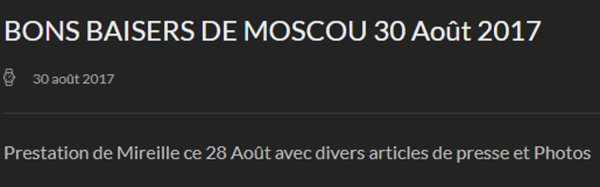 MM Site Officiel - 30 août 2017