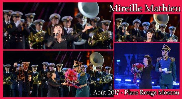 Mireille Mathieu - Moscou Août 2017