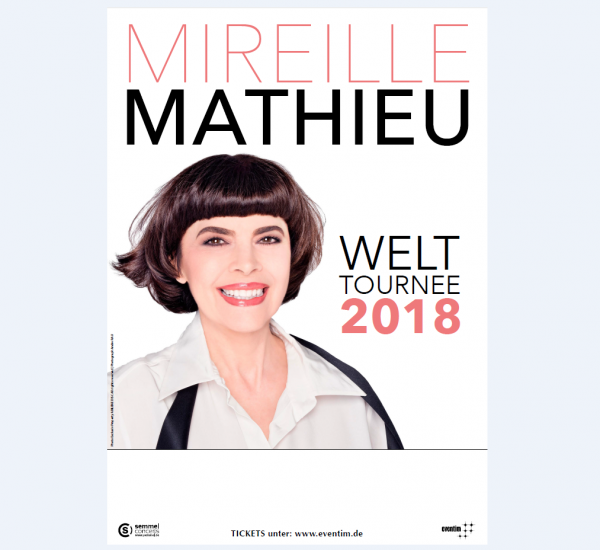 Mireille Mathieu - Tournée 2018 - Info Site officiel - Dates