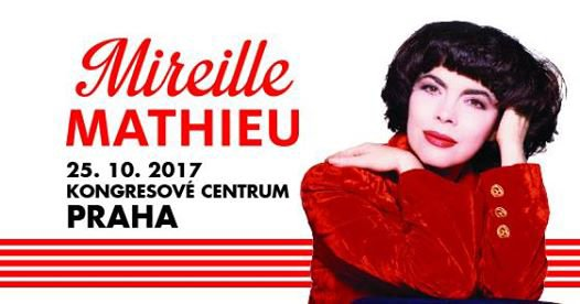 Mireille Mathieu Praha 25. 10. 2017