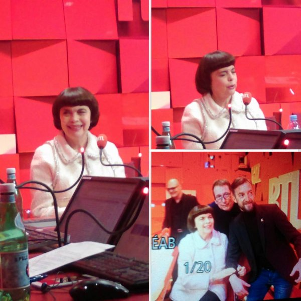 Mireille à RTL 21-11-2017  - Info Philippe du Site Aujourd hui Je reviens