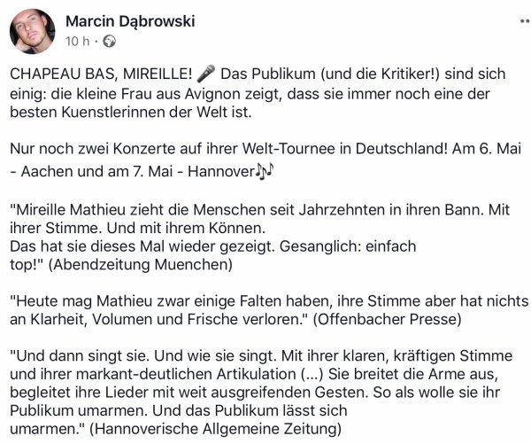 MM Tournée 2018 - Allemagne/Autriche