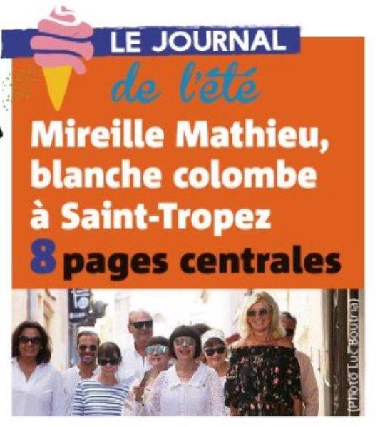 Infos MM Site Officiel - Mireille à Saint Tropez - Août 2018