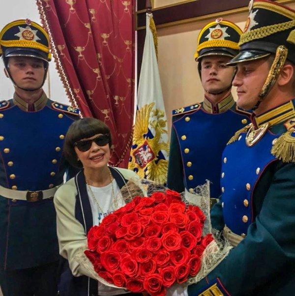 Mireille Mathieu - Moscú 2018