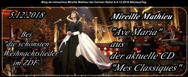 Mireille Mathieu mit Carmen Nebel - 5/12/2018