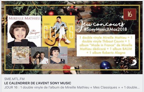 """Mireille Mathieu - Calendrier d'advent"""""""