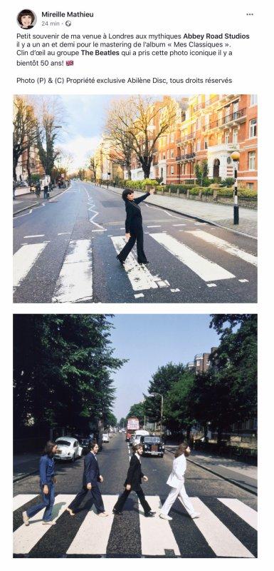 MM Souvenir de Londres - Abbey Road - Page facebook officielle MM