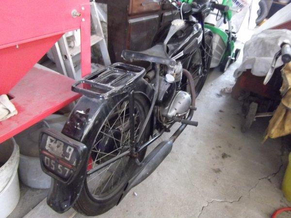 nouvelles motos.... terrot etm 125 1953