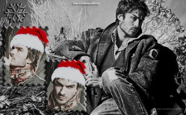 Ian-SomerhalderTVD vous souhaite à tous de joyeuses fêtes de fin d'année !
