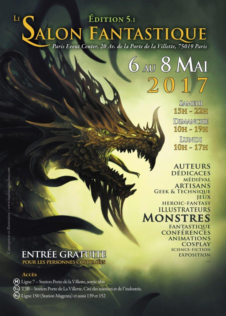 Salon du fantastique 2017