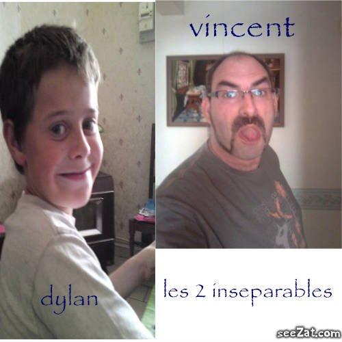 mon fils dylan et vincent