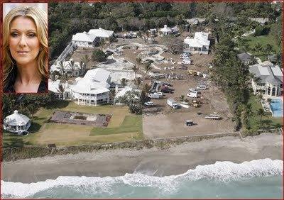 Celine dion investit dans sa maison de jupiter island c line dion - Maison de celine dion a las vegas ...