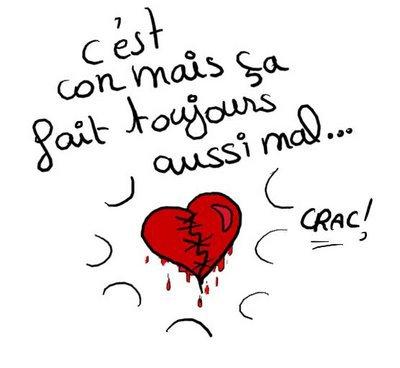 Mon coeur - Dessin de coeur brise ...