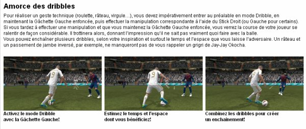 Les Dribbles De Base [ 1/8 Du Guide Officiel ]