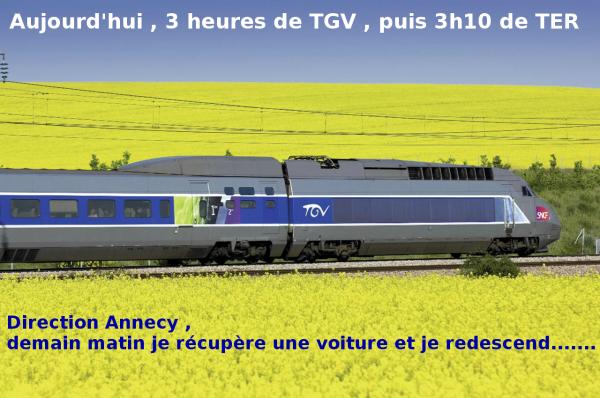 Journée en train.................................................