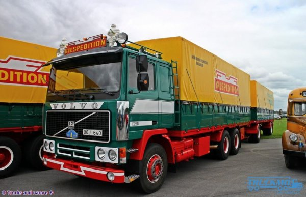 Volvo F 1220 BILSPEDITION...................................