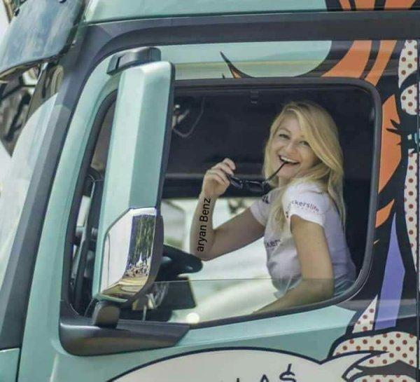 Femme routière.....................................