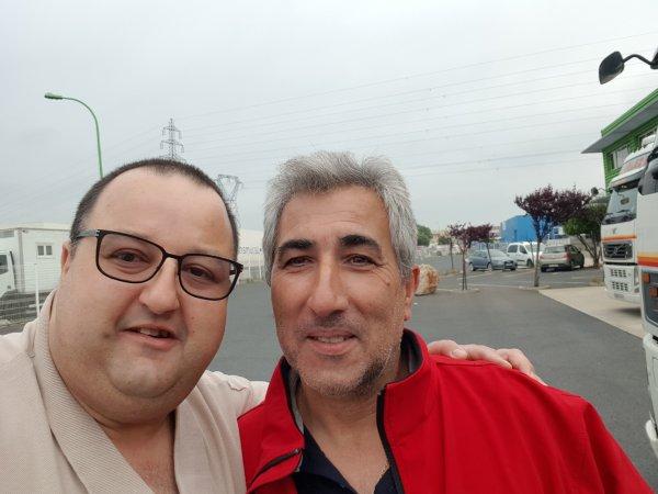Avec Diégo Martinez , Patron des Transports Martinez Velez