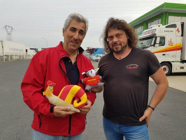 Diégo Martinez et  Blas un de ses chauffeurs ....