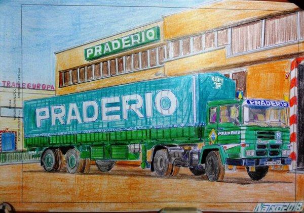 Photo d'un ami d ' Espagne................Il fait lui même les dessins...