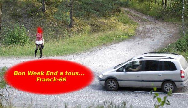 L'autostoppeuse du Vendredi ...................................