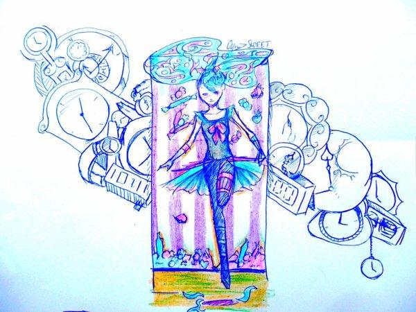 Traditionel N°10 : Grinn et horloge