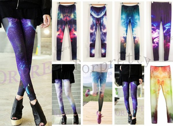 Legging galaxy.