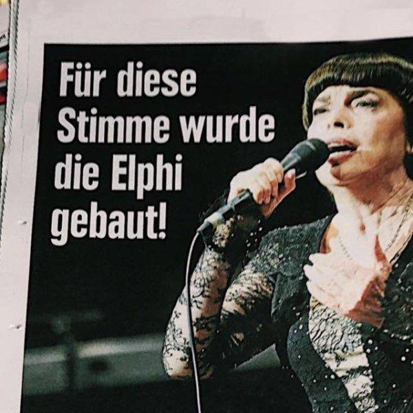 Selon le quotidien Hambourg Morgen Post, la salle du Philarmonique d Hambourg a été créée pour la voix de notre Mimi chérie