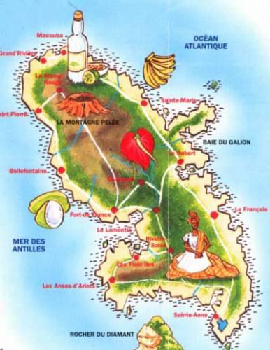 La Martinique : destination idéale de vacances