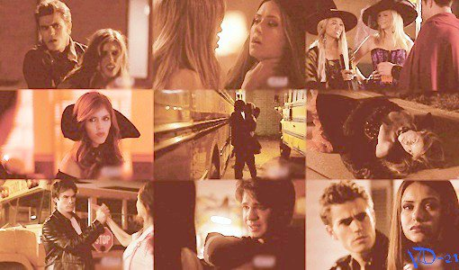 Episode 7 Saison 01 - Soif de Sang  Le comportement de Vicki devient de plus en plus dangereux à cause de sa transformation en vampire, Stefan essaie de l'aider. Elena tente de convaincre Jérémy de rester loin de Vicki. Caroline montre à Bonnie un collier qu'elle a pris à Damon et lui dit qu'elle va le porter avec son costume d'Halloween, mais quand Damon essaie de le reprendre, il est surpris par les pouvoirs de Bonnie. Bonnie parle avec sa grand-mère et apprend d'avantage sur le passé de sa famille.