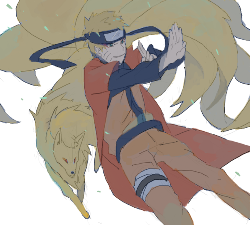Naruto & Feunard ❤