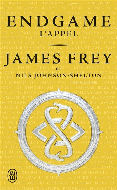 Endgame, tome 1, L'Appel, de James Frey et Nils Johnson-Shelton