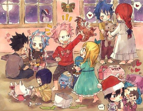 O.S 5 : Le premier Noël de Natsu