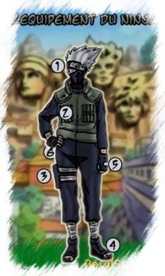 L'equipement du ninja