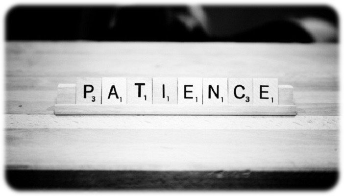 En huit lettres, compte triple : patience