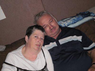voilà quelque photos de mon mari et moi