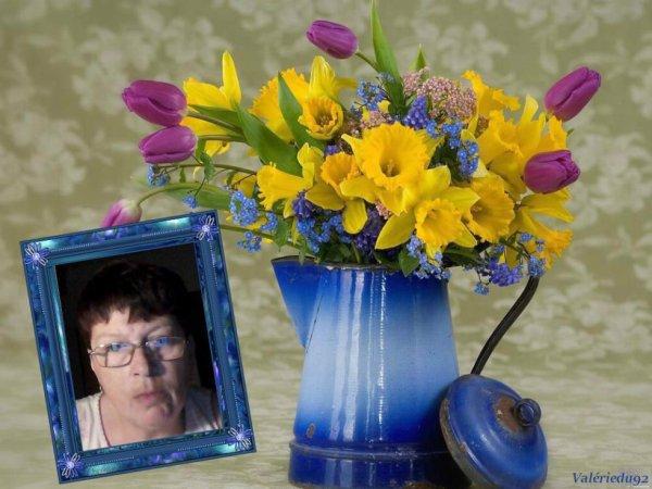 merci a mon amie Valérie  du 92 pour ce joli cadeau