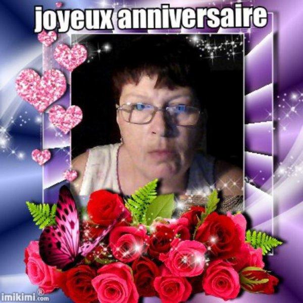 merci à mon amie cibeline 49 pour ce joli cadeau d'anniversaire