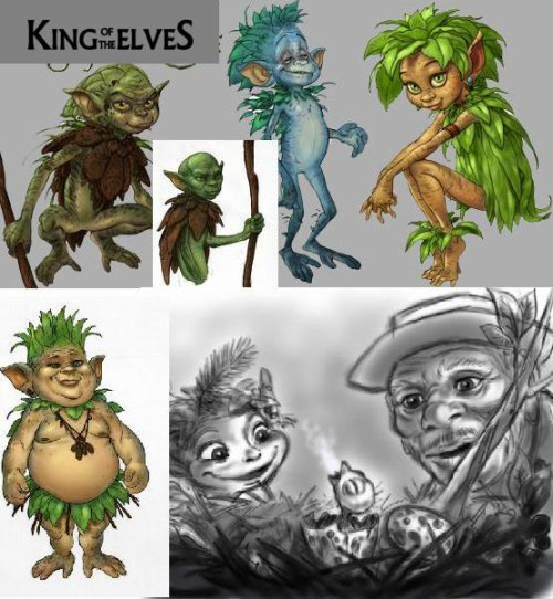 Art concept King of the Elves