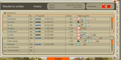 Record temp fuji, screen coffre, up :D