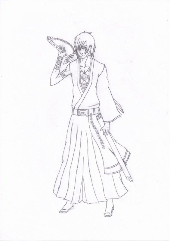 dessin de shinigami