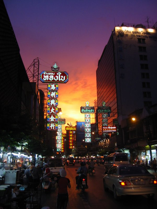 Bangkok Chinatown Represents Another Facet Of The City