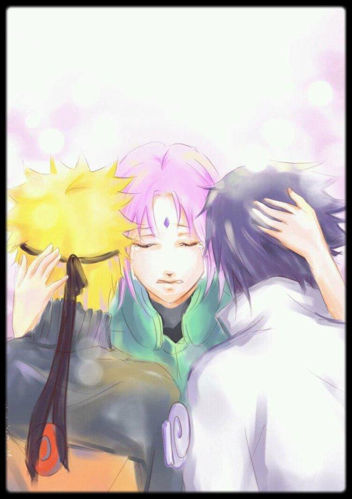 «Si tu te sen seul, je serai ton ombre. Si tu veux pleurer, je serai ton épaule. Si tu veux être heureux, je serai ton sourire. Si tu as besoin d'une amie, je n'aurai qu'à être moi-même»♥ (SAKURA HARUNO & SASUKE UCHIHA & NARUTO UZUMAKI)♥