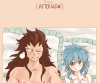Petit doujinshi de Gajeel & Levy♥ After Glow♥=)