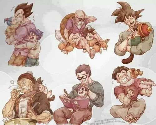 Famille Dragon Ball ⬅