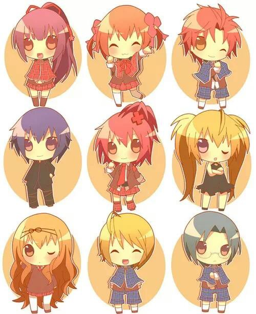 Personnages Shugo Chara